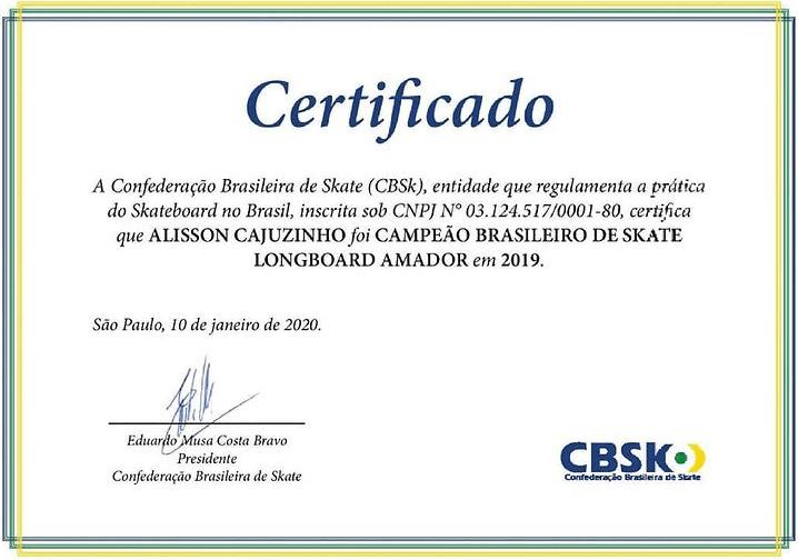 certificado-de-campeao-alisson-silva-enoselongboard
