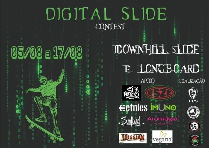 convite do campeonato digital de skate